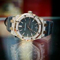 Audemars Piguet Ladies Royal Oak 37mm Rose Gold and Diamonds...