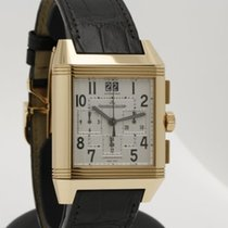Jaeger-LeCoultre Reverso Squadra Chronograph GMT in 18K Pink...