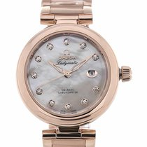 Omega De Ville Ladymatic 34 Automatic Rose Gold