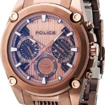 Police MESH UP PL.14543JSBN/20MA Herrenchronograph Massives...