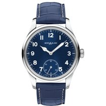 Montblanc 1858 Manual Small Second 44mm Blue Edition