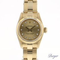 Rolex Oyster Perpetual Yellow Gold/Diamonds
