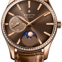 Zenith Heritage Ultra Thin Lady Moonphase NEU mit Box + P