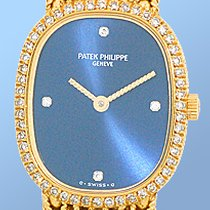 "Patek Philippe Lady's 18K Yellow Gold  Diamond ""Golden..."