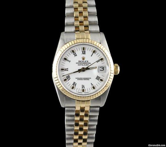 Rolex Datejust Stainless Steel/18k Yellow gold Ladies