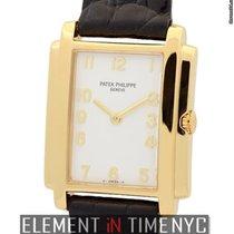Patek Philippe Gondolo Ladies 18k Yellow Gold White Dial