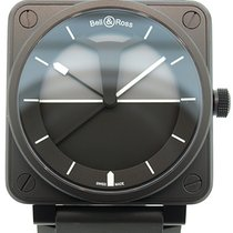 Bell & Ross Aviation BR01 Horizon Black PVD Automatic...