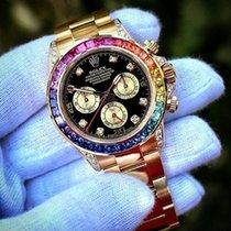 Rolex [NEW+SUPER RARE] Cosmograph Daytona Rainbow 116598 RBOW