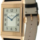 Jaeger-LeCoultre 18K Rose Gold Grande Reverso Ultra Thin Watch...