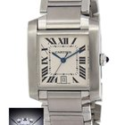 Cartier Tank Francaise Stainless Steel Date Large Automatic...