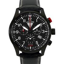 Junkers Hugo 6680-2 Quartz Watch Swiss Movement Alarm Chrono...