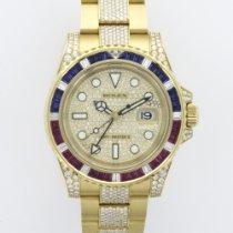 Rolex Yellow Gold GMT-Master II REf. 116758