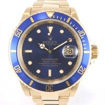 Rolex 16618 -18k full gold case and bracelet