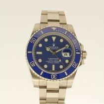 勞力士 (Rolex) Submariner white gold - AS NEW - partly in the...