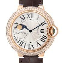 卡地亚 (Cartier) Ballon Bleu 18 K Rose Gold With Diamonds Silver...