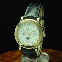 Concord 18kt 750 Gold Automatic Vollkalender Mondphase / Ref...