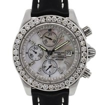 Breitling A13356 Windrider Chronomat Evolution MOP dial and...