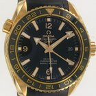 Omega Seamaster Planet Ocean 600m Co-axial GMT Rose Gold