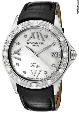 raymond weil tango diamond for 1 500 for sale from a. Black Bedroom Furniture Sets. Home Design Ideas