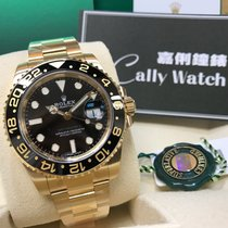 Rolex Cally - GMT Master II 116718LN 18K GOLD Ceramic Bezel BLack
