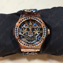Hublot Big Bang Broderie Sugar Skull Gold