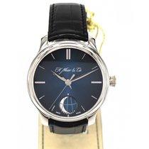 H.Moser & Cie. Endeavour Moon Platinum (Blue Fume)
