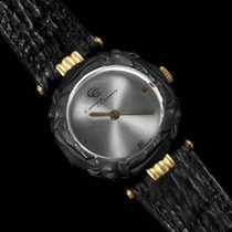 Carrera Ladies Leopard Quartz Watch - 18K Gold & Sculpture...
