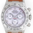 Rolex Cosmograph Daytona Men's White Gold Watch Mother of...