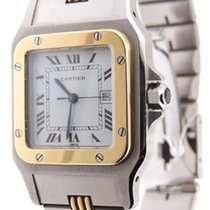 Cartier Santos Special Edition Automatic 18K Yellow Gold &...