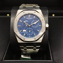 Audemars Piguet Royal Oak Dual Time Blue Dial 39mm 26120ST.OO....