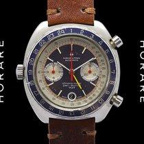 Hamilton Pan-Europ 707 Automatic Chronograph GMT - 1970s