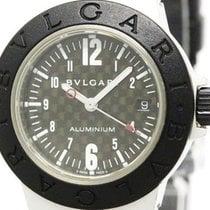 Bulgari Aluminum Rubber Quartz Ladies Watch Al29ta (bf304847)
