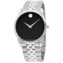 """Movado Men's 0606504 """"museum"""" Stainless Steel Watch"""