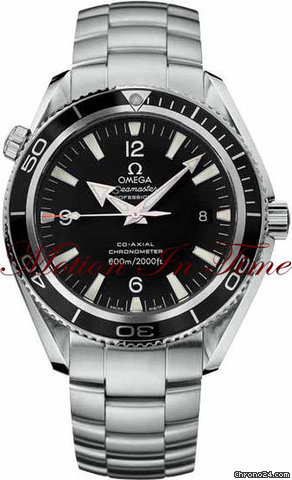 Omega PLANET OCEAN 42mm STAINLESS STEEL ON BRACELET BLACK DIAL