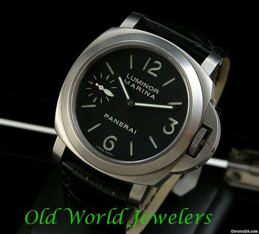 Panerai Luminor Marina 44mm Titanium Manual Wind