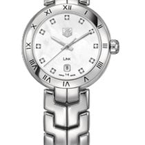 TAG Heuer Link Lady Quartz White Mother of Pearl Dial