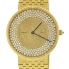 Corum 5$ Gold Liberty Coin Solid 18k Yellow Gold 2.00ctw Diamond