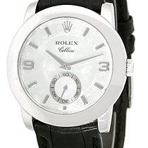 """Rolex Cellini """"Cellinium"""" Strapwatch."""
