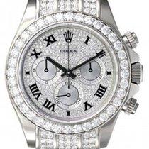 Rolex Cosmograph Daytona 116599 116599-PVEDRBLKL Pave Diamond...