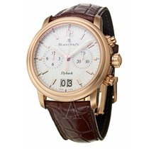 Blancpain Men's Leman Flyback Chronograph Watch