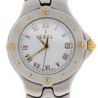 Ebel Sportwave 2-Tone 18K Yellow Gold/Steel Ladies Watch E6087621