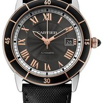 Cartier Ronde Croisiere Automatic Date Mens watch W2RN0005
