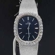 Omega De Ville Diamonds 18k White Gold Ladies