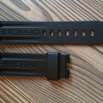 Panerai rubber set 24/22mm fit 44mm case / Deployment clasp