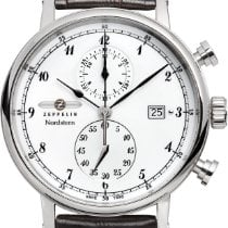 Zeppelin Nordstern 7578-1 Herrenchronograph Klassisch schlicht