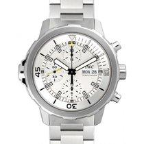 IWC Schaffhausen IW376802 Aquatimer Chronograph Silver Plated...