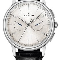 Zenith Elite Chronograph Classic Stainless Steel White Dial...