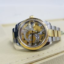 Rolex Datejust 31mm Steel & Yellow Gold MOP Goldust Dial