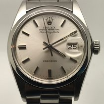 Rolex AIRKING DATE SILVER DIAL LIKE NEW VERY RARE