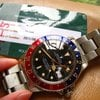 Rolex 16750  Patina marker Glossy dial Pepsi GMT w/RSC ...